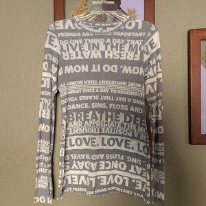 Lululemon Manifesto Long Sleeve Shirt